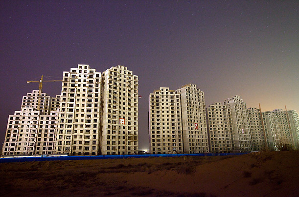 Ordos, China: A Modern Ghost Town