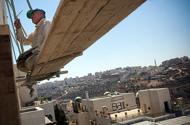 In the West Bank, a National Economy -- Without the Nation