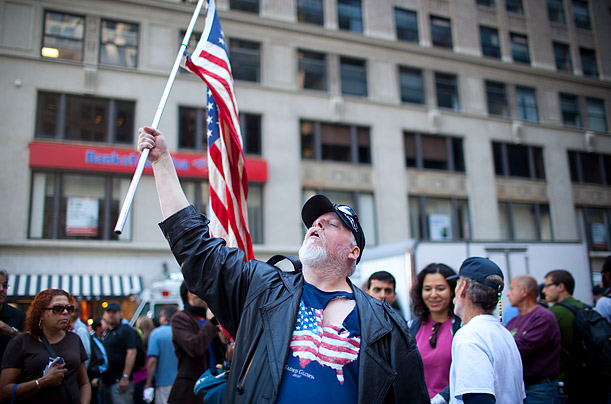 Tensions Rise Near Ground Zero on the 9/11 Anniversary