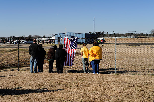 A Soldier's Final Journey Home A year after the U.S. lifted the ban on media coverage of the return of dead service members, a rare glimpse into the last journey of a fallen soldier Peter van Agtmael Magnum