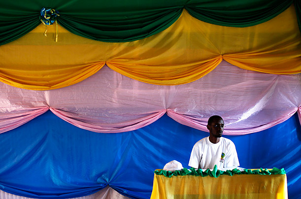 Rwanda's Dressed-Up Polling Stations