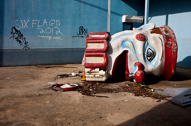 The Surreal Remains of Six Flags New Orleans