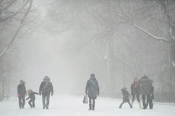 Blizzard Slams the Northeast