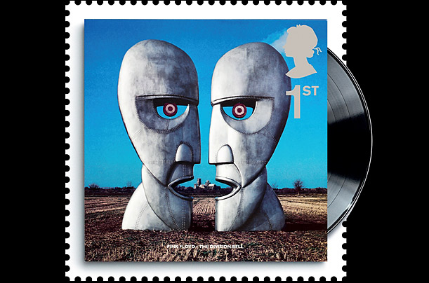 British Albums on Stamps: Pink Floyd, 'The Division Bell'
