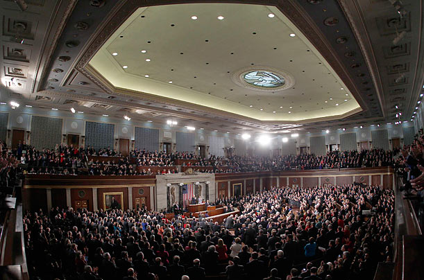 President Obama's First State of the Union Address