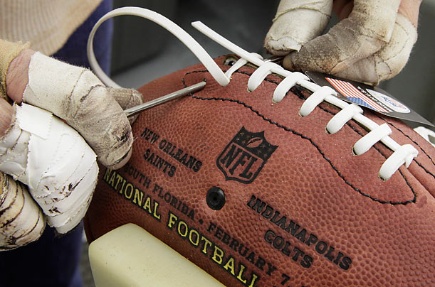 The Making of the Super Bowl Footballs
