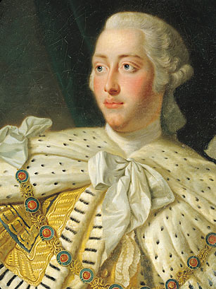 King Geroge III of england