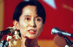 Aung San Suu Kyi  Top  Political Prisoners  Time Emmanuel Dunand  Afp  Getty Images Burmese Prodemocracy Opposition  Leader Aung San Suu Kyi  Persuasive Essay Samples For High School also Essay Mahatma Gandhi English How To Write An Essay Thesis