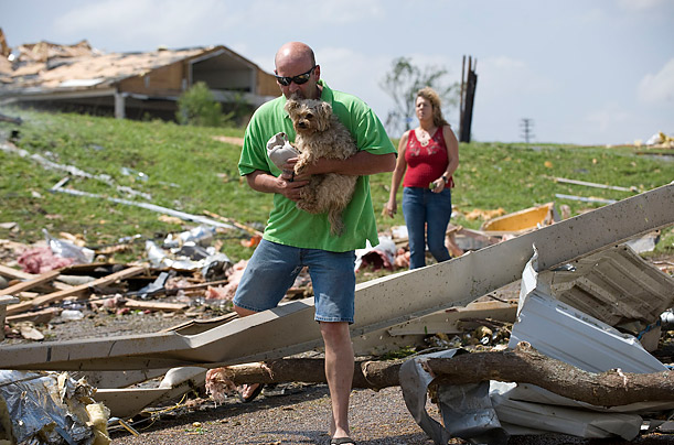 A Tornado Rips Through Mississippi 