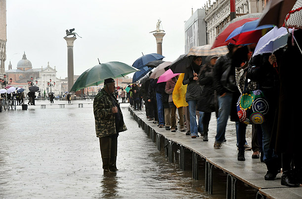 Floods Return to Venice