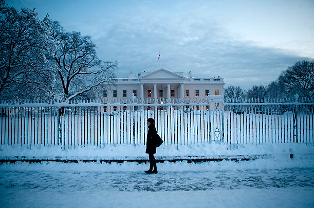 A Massive Blizzard Hits Washington, D.C.