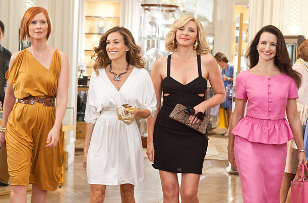 Sex and the City:the Movie, the Clothes! InStylecom