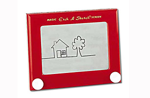 Invented By A French Mechanic Arthur Granjean The Etch Sketch Originally Called LEcran Magique Was Introduced In 1959 At International Toy Fair