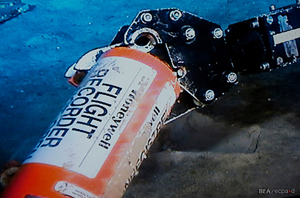 Air France 447 Flight Data Recorder