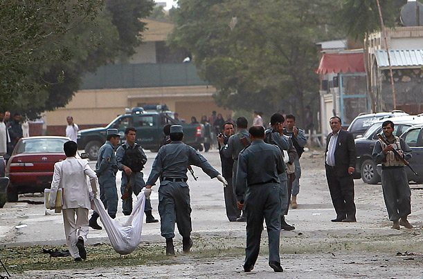 U.S. Embassy Attacked in Kabul