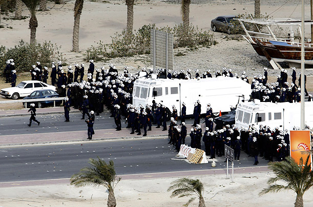 bahrain crackdown
