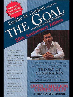 goal essay goldratt The goal, by eliyahu goldratt, demonstrates the theory of constraints' in an interesting manner it portrays clearly what the goal of a business is and suggests a number of methods that could be applied in both manufacturing and service companies - methods that are fascinating practical and logical.