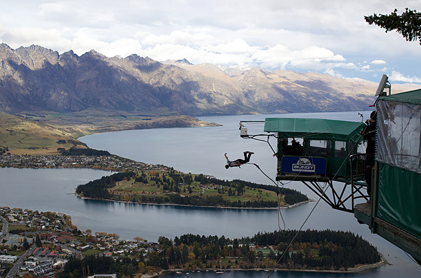 new zealand, bungy jumping