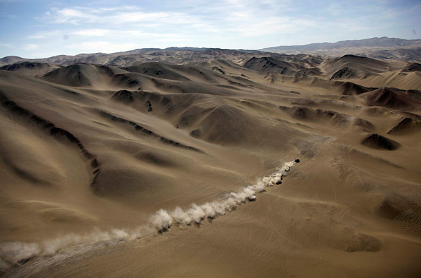 Dakar Rally in Argentina and Chile, South America