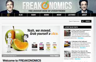 freakonomics thesis statement