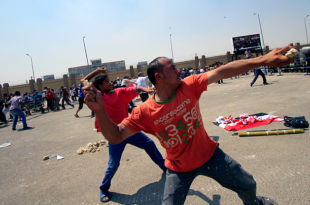 Protests in Egypt Against Hosni Mubarak