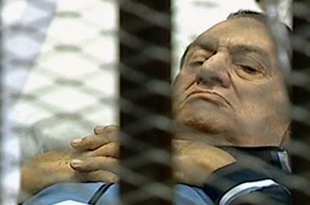 Hosni Mubarak on Trial