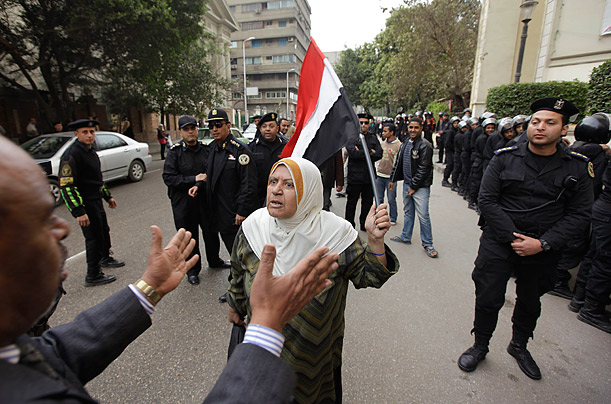 Mass Demonstration in Egypt