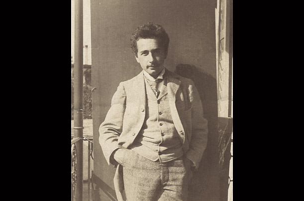Einstein in 1898, after he entered Zurich Polytechnic.