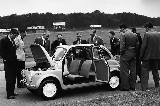 Coming to America: The Fiat 500 <br />An appreciation of the Italian small car legend, which the company has announced will go on sale in the US this year