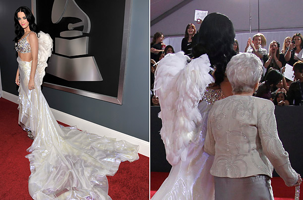 Odd Fashion Statements at the 2011 Grammys