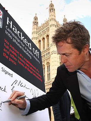 Hugh Grant. Peter Macdiarmid / Getty Images. Print