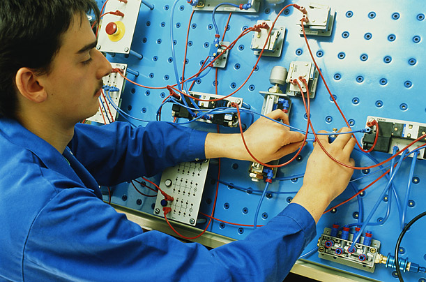 Electrician different college degrees