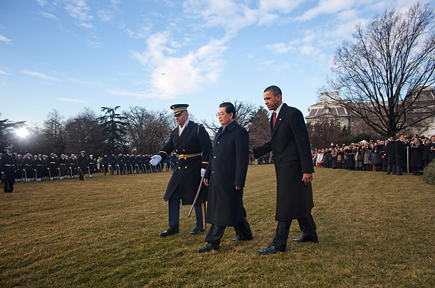 Hu Jintao's Day at the White House
