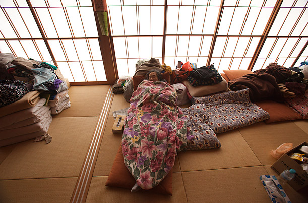 Life in Japan's Evacuation Centers <br />Evacuees struggle to create a sense of normalcy after the March 11 earthquake and tsunami and nuclear crisis