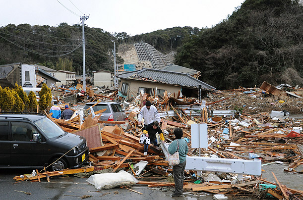 Japan, Earthquake
