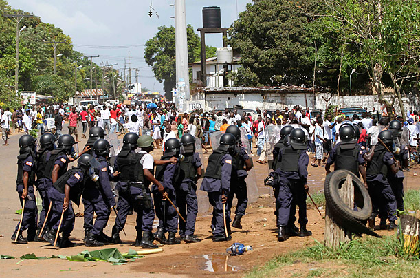 Liberia's Election Marred by Violence Deadly clashes erupt ahead of presidential runoff voting