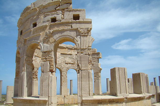 The city once served as a major trading post in Roman Africa.