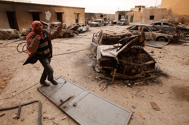 Uprising in Libya: Rebels vs. Gaddafi Loyalists
