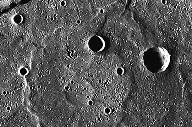 Photographs of Mercury