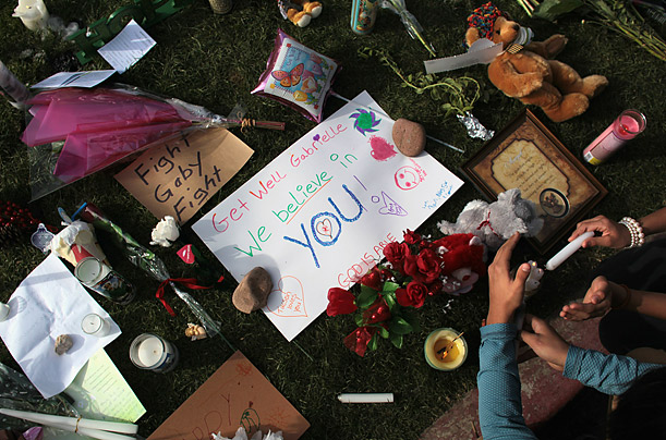 Messages for the Tucson Victims