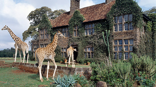 Nairobi, Kenya, Giraffe Manor
