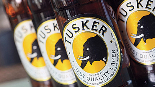 Nairobi, Kenya, Tusker Beer