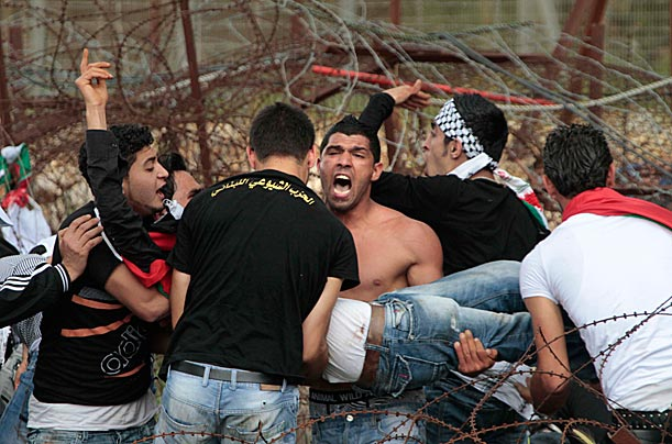 Palestinians Mark Nakba with Violent Protests