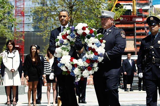 Barack Obama Ground Zero