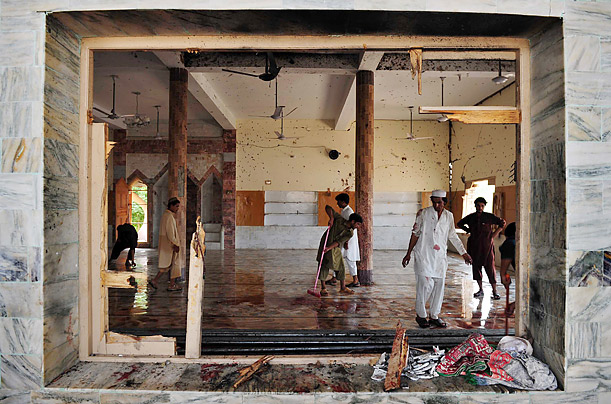 Pakistan Mosque Bombing