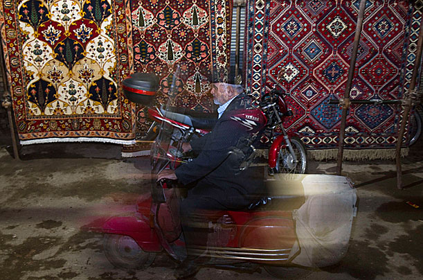 persian rugs, iran