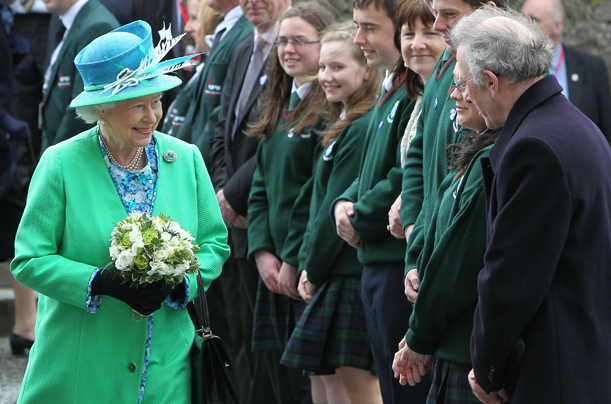 Queen in Ireland