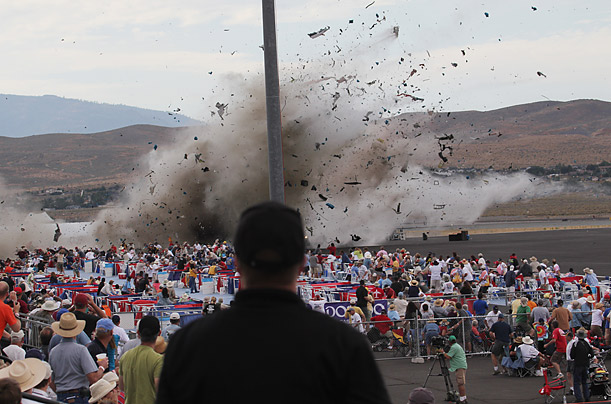 Crash at Reno Air Races