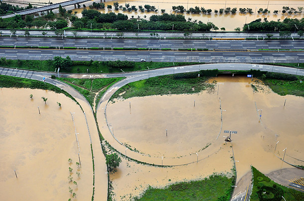 South Korea flood