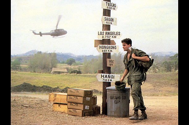 essays on the movie platoon Film analysis of platoon platoon tells the story of vietnam from the point of view of a young, naive soldier, chris taylor (charlie sheen) the film showed its viewers about war, and what it really was.